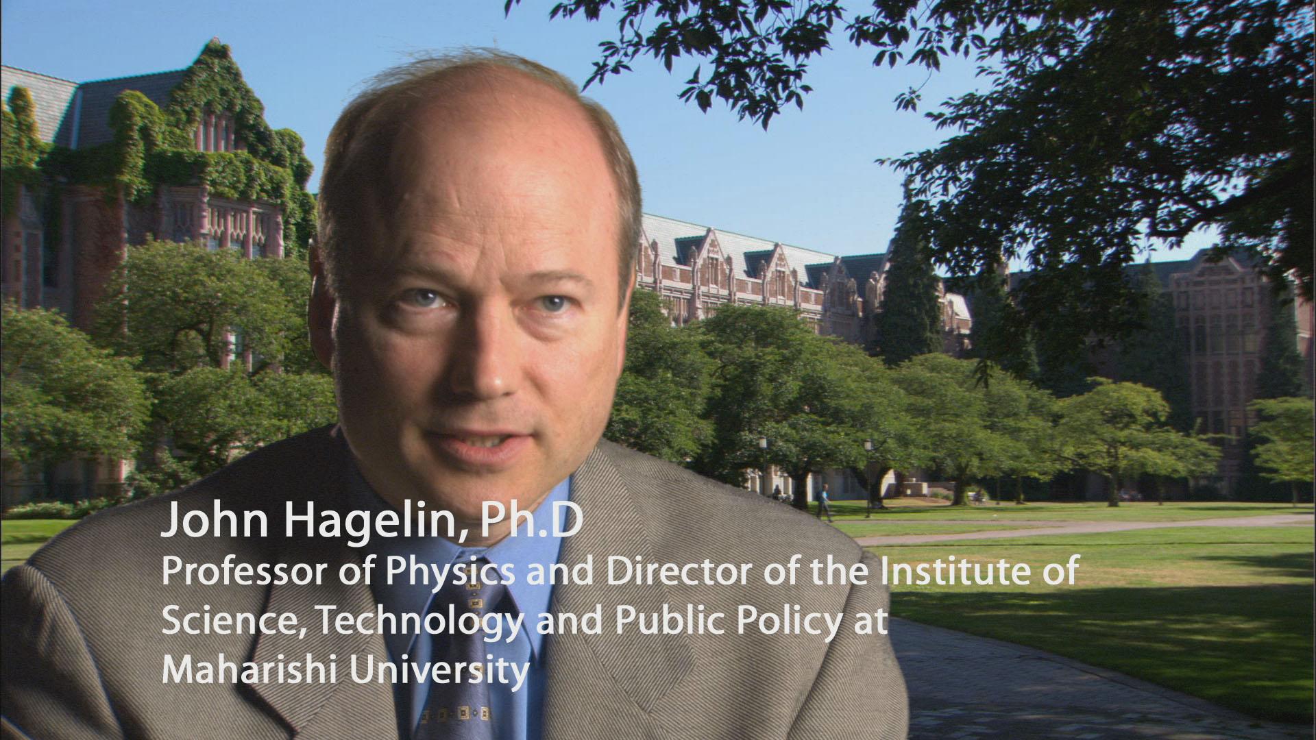 Dr. John Hagelin, Ph.D.'s Biography